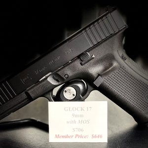 Glock 17 9mm Gen5 with MOS