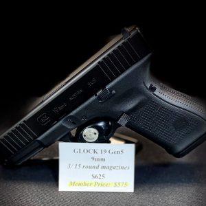 GLOCK 19 Gen5 9mm