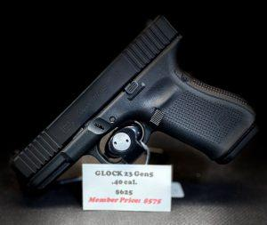 GLOCK's compact 40 S&W, now features the latest Gen5 technologies