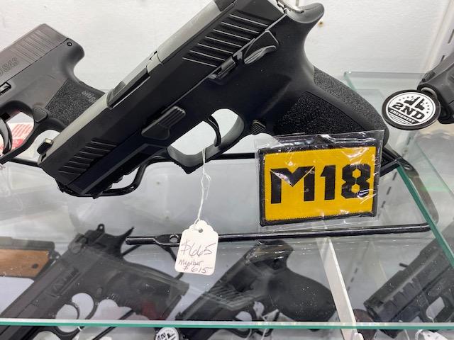 Sig Sauer P320-M18 Black