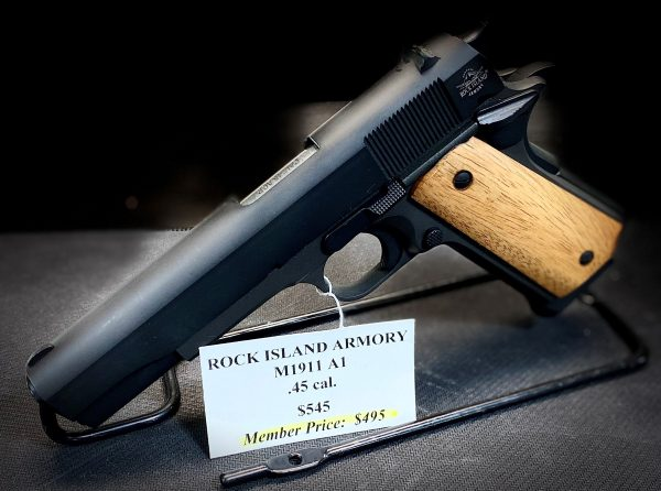 The M 1911 GI standard is a great representation of the original US GI combat issue 1911 and is chambered in 45 ACP