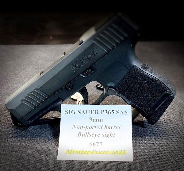 Sig Sauer P365 SAS 9mm