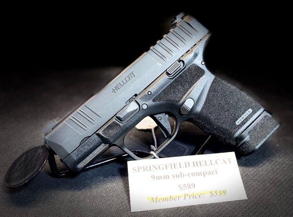 Springfield Armory Hellcat 9mm sub-compact
